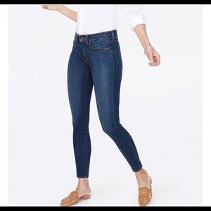 NYDJ Ami Skinny Lift Tuck Technology Dark Wash Blue Jeans 18P